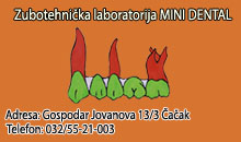 ZUBOTEHNIČKA LABORATORIJA MINI DENTAL Čačak