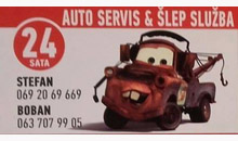 TOWING SERVICE AND CAR SERVICE BOBAN Nis