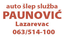 CAR TOWING SERVICE PAUNOVIC Lazarevac