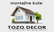 PREFABRICATED HOMES TOZO DECOR Ivanjica